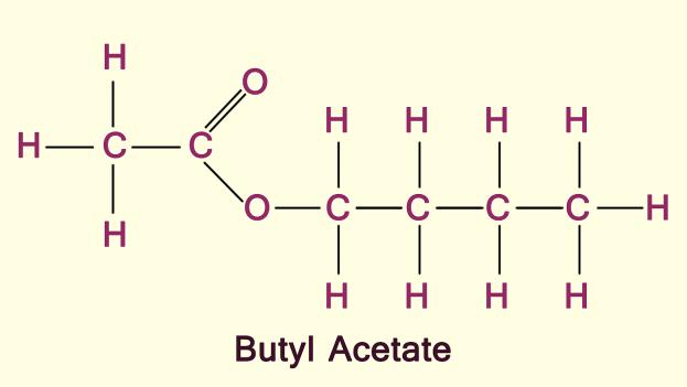 فرمول شیمیایی بوتیل استات