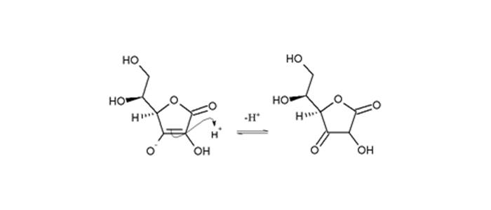 حملهی نوکلئوفیلی آسکوربیک اسید