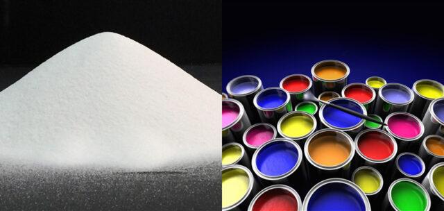کربنات کلسیم در بخش تولید رنگ و کاغذ