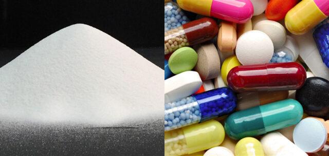کربنات کلسیم در بخش دارویی و درمانی
