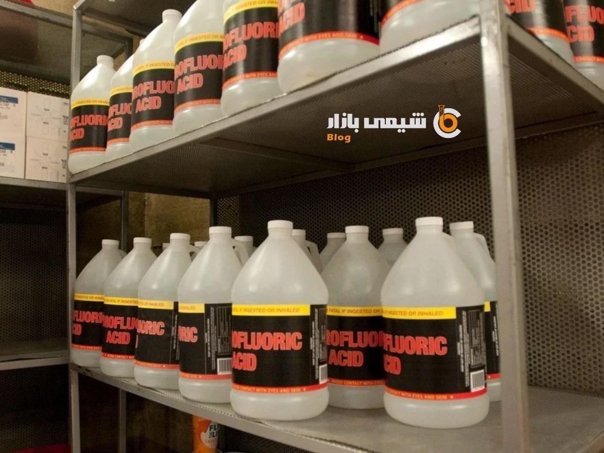 کاربرد هیدروفلوریک اسید