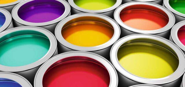 انواع رنگ صنعتی و ویژگی ها