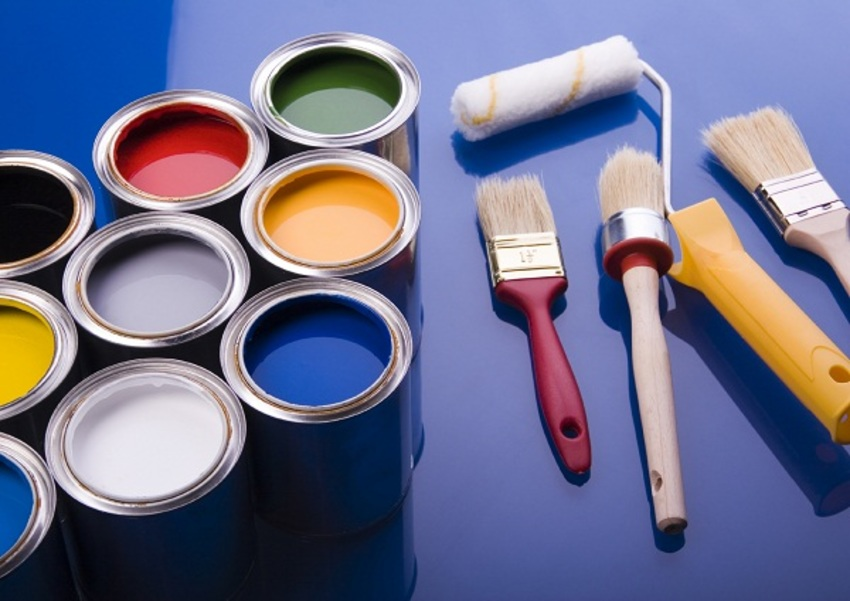 Types of industrial paints